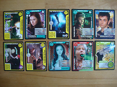 10 Doctor Who Trading Cards Lot 23