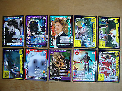10 Doctor Who Trading Cards Lot 20