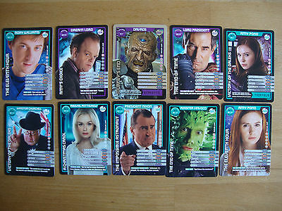 10 Doctor Who Trading Cards Lot 27