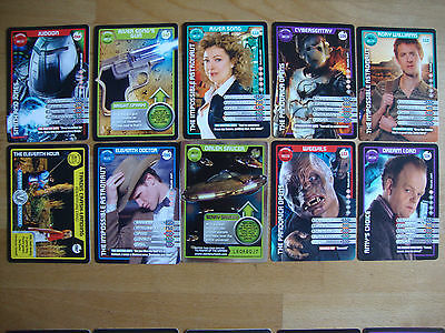 10 Doctor Who Trading Cards Lot 8