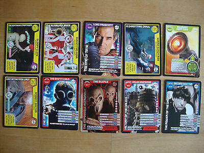 10 Doctor Who Trading Cards Lot 26