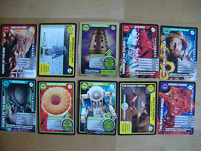 10 Doctor Who Trading Cards Lot 2