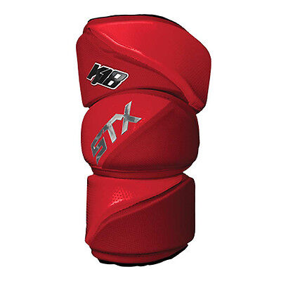 NEW STX K18 Lacrosse Arm Pads - Red - Large