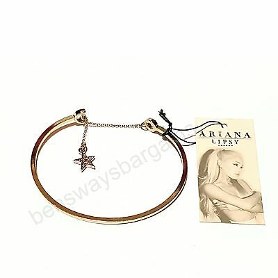 Ariana Grande by Lipsy Moon and Star Bangle/bracelet   - brand new