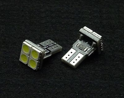 T10 w5w LED 12V Lampe LED Canbus Leselampe Innenraumbeleuchtung 4x 5050 smd