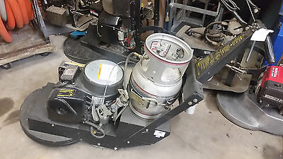 National Super Service NSS Vac Trac Warhorse 20 Onan Propane Buffer 24CI engine
