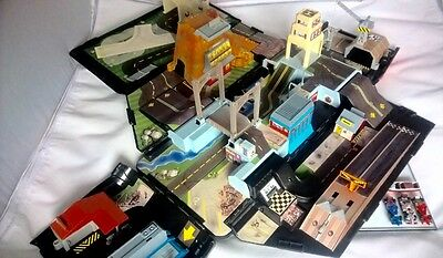 Micro Machines Super Van City 1991 Vintage Play Set With Vehicles Retro 90's