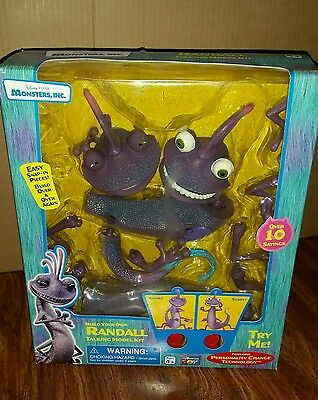 Monsters Inc. Randall Talking Action Figure New In Unopened Box