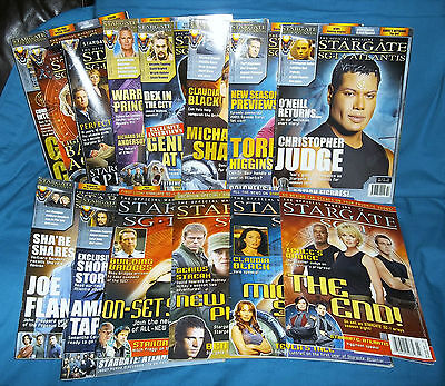 Stargate SG-1 Official Magazine Collectible Back Issue Choice UK and US Editions
