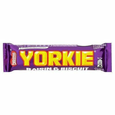 Nestle Yorkie Rosinen % Keks - 53g - 12-er Pack