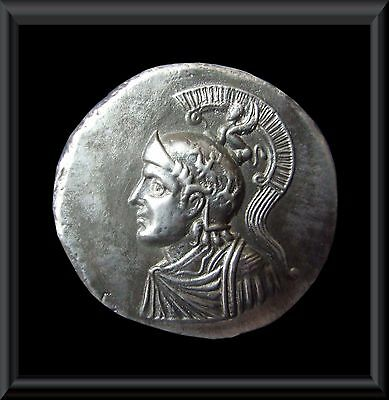ALEXANDER THE GREAT VICTORY MEDALION 45MM,  Heavy 75 GRAMS