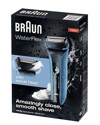 Braun Waterflex WF2s Men's Electric Foil Shaver Wet and Dry Rechargeable