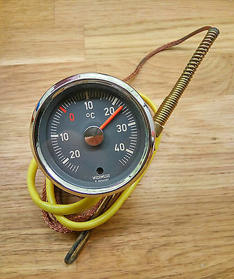 Classic MotoMeter Air Temperature Gauge made in Germany (Porsche 911 912 356 ?)