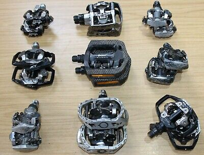Shimano SPD Bike Pedals Pedal Peddles MTB Touring Deore XT Dual Purpose Sided