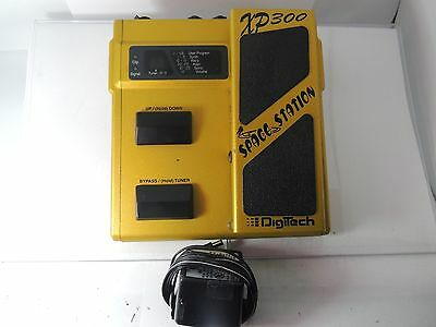 RARE DIGITECH XP-300 SPACE STATION MODULATION EFFECTS PEDAL w/ADAPTER WORKS 100%