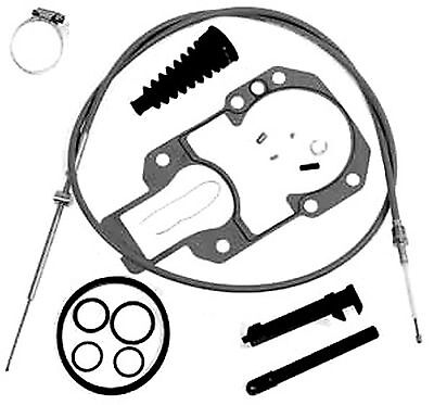 Shift Cable Kit for Mercruiser Alpha One, Alpha Gen II, R, MR Replaces 865436A02