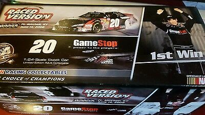 Joey Logano Gamestop 1st Win Autographed Nationwide Series 1:24 Scale