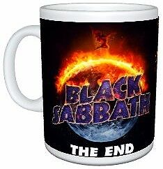 Black Sabbath 2017 The End Tour Birmingham Dates Coffee Mug