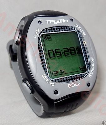 Golf G.P.S. Range Finder & Score Trywin G1s GPS Golf Watch with Built In Courses