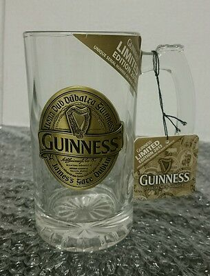 Guinness Tankard with Metal Badge -Limited Edition 2013 - see description