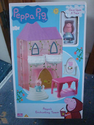 Peppa Pig Once Upon A Time - Peppa's Enchanting Tower Playset * Brand New *