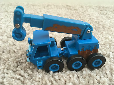 "Bob The Builder 3"" Diecast Lofty Crane (Muddy Version) 2004 Learning Curve"