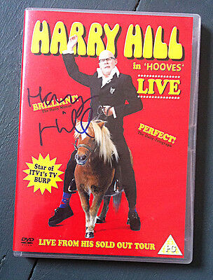 HARRY HILL SIGNED Live Stand Up DVD 'Harry Hill In Hooves' LIVE TV Burp