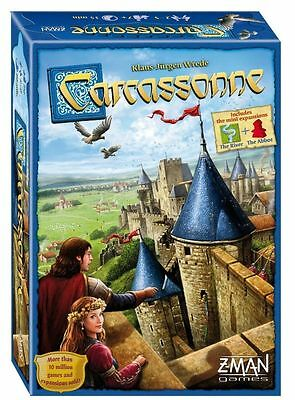 Carcassonne Board Game 2015 Revised Edition Brand New.