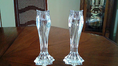 Lenox Artic Bloom Candlesticks Made in Germany