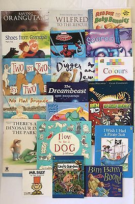 Boys Picture Books X 20 Bulk Set Read To Learn Read Primary Resources Children's