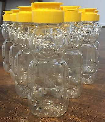 Teddy Bear Honey Plastic Bottle Container  340g- Party, Decorations