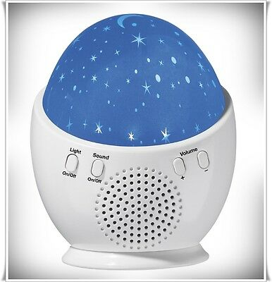 Night Light Sound Machine Baby Dream Tones LED Star Sleep Noise Therapy Slumber