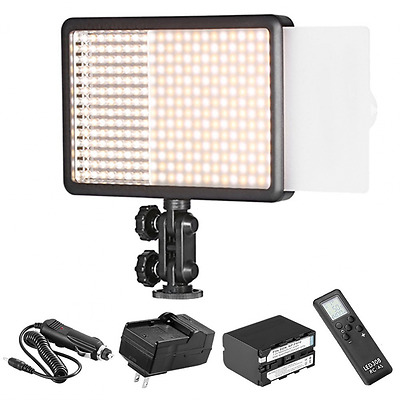Bestlight LED308C 308PCS LED Dimmable Video Light with 16CH Wireless Remote Cont