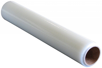 """Plasticover Carpet Protection Film, Temporary Adhesive Plastic, Clear, 24"""" Wide"""