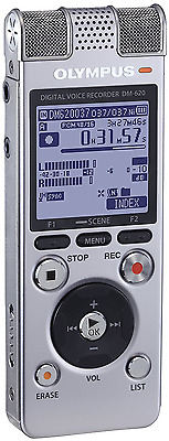 Olympus 142665 DM-620 SLV Voice Recorder (Silver)