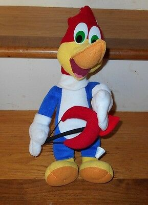 Valentines Day Woody Woodpecker Toy Network Plush Toy Bow And Heart Arrow 13""