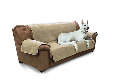 Furhaven Pet Products Home Sofa Protector, Clay