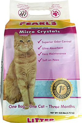 Litter Pearls Micro Crystals Cat Litter, 10.5-Pound