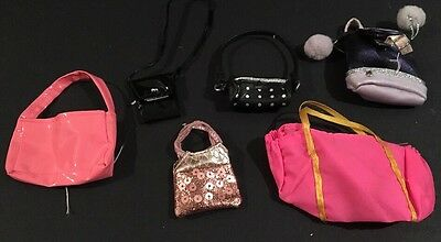 Vintage Lot of Barbie Doll Purses, Bags Hand Bags Clutch