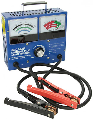 FJC 45115 500 Amp Carbon Pile Battery Tester