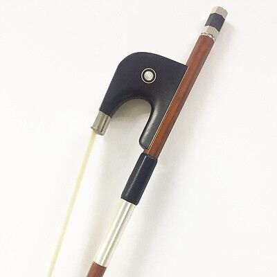 4/4 Double Bass Bow German Style Ebony Frog 4/4 Bouble Bass Bow Upright Bass Bow