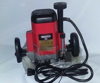 "Plunge Router TOUGHTEST M1R-DQ03-12 **2-1/4 HP** Electric 1/2"" bit"
