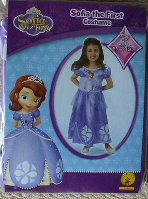 NIP Disney Junior Sofia the First Girls Character Costume Dress Up Size 3-5