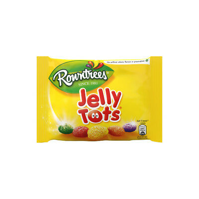 36 Packets Rowntrees Jelly Tots Full Box Retro Sweets £17.89
