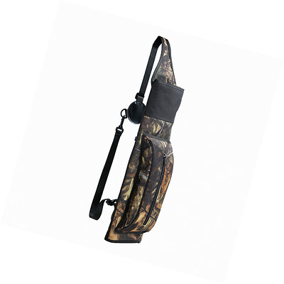Pellor Camouflage Hunting Quiver Arrows & Bow Archery Case Shoulder Strap Large