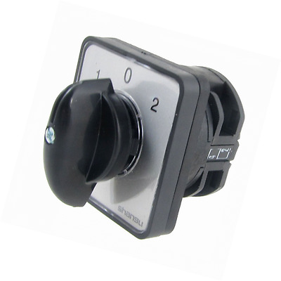 AC 440V 240V 1-0-2 Position Rotary Cam Changeover Combination Switch Start-up