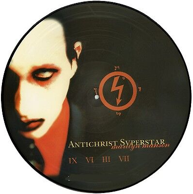 33 LP Marilyn Manson – Antichrist Superstar  Picture Disc mexico 1998 limited