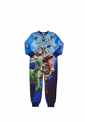 BOYS Disney Pixar Toy Story Fleece  all in one pyjamas - Ages 4-7yrs