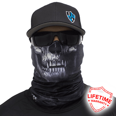 MOTORCYCLE FACE MASK - THE SKULL Design 1 - (Moto, Hunting, Fishing, Paintball)