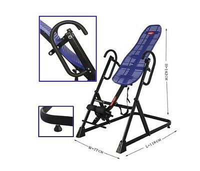 Emer Adjustable Fitness Exercise Therapy Inversion Table With Comfort ABS